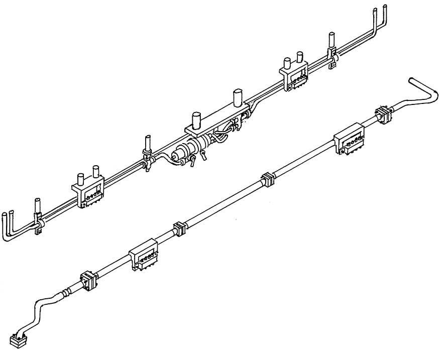 1:87 Leitungen für Tender 2�2�T34 1 Satz- Weinert 8686  | günstig bestellen bei Weinert-Bauteile