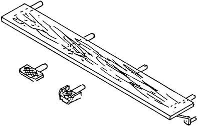 1:87 Kohlekastenbrett für BR 92 mit 6 Tritten, 1 Stück- Weinert 87001  | günstig bestellen bei Weinert-Bauteile