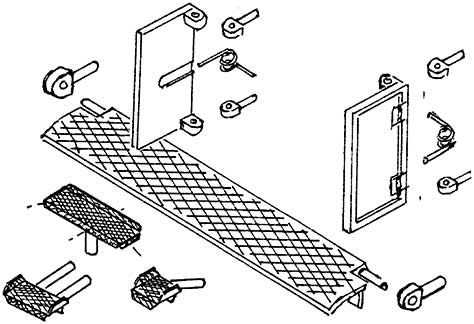 1:87 Tritte +Türen für BR 41 mit Rückstellfeder, 1 Satz- Weinert 87011  | günstig bestellen bei Weinert-Bauteile
