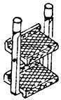 1:87 H0e-H0m Aufstiegstritte für Schmalspurloks z.B. Mallet,- Weinert 87013  | günstig bestellen bei Weinert-Bauteile