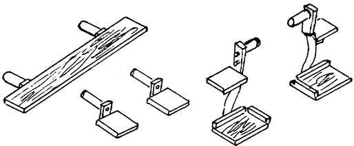 1:87 Tritte für PwgPr14, 1 Satz - Weinert 87014  | günstig bestellen bei Weinert-Bauteile