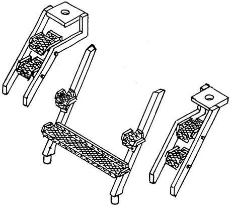 1:87 Aufstiegstritte für BR 85 1 Satz- Weinert 87016  | günstig bestellen bei Weinert-Bauteile