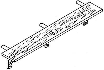 1:87 Kohlenkasten-Tritt BR 94.5-17, 1 Stück- Weinert 87034  | günstig bestellen bei Weinert-Bauteile