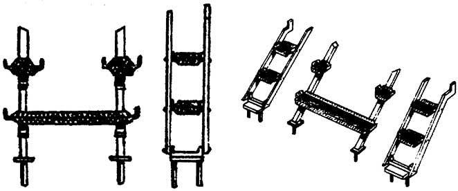 1:87 Rauchkammerstütze mit Tritten z.B. für BR 43 - Weinert 87035  | günstig bestellen bei Weinert-Bauteile