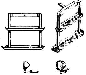 1:87 Tritte und Lampen für Elloks, z.B. E44, E93, E94, 4 Stück - Weinert 87040    günstig bestellen bei Weinert-Bauteile
