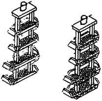 1:87 Tenderaufstiegsleitern BR 24 und BR 50, 1 Paar- Weinert 87041  | günstig bestellen bei Weinert-Bauteile