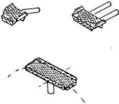 1:87 Aufstiegstritte für Lokkessel, 6 x kleiin, 6 x mittel, 1 großer für Kesselscheitel - Weinert 8710  | günstig bestellen bei Weinert-Bauteile