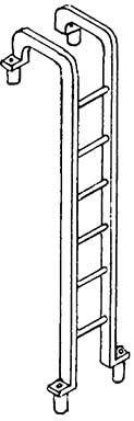 1:87 Leiter für V36 und Zurüstteile - Weinert 8741  | günstig bestellen bei Weinert-Bauteile
