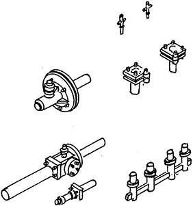 1:87 Zurüstsatz für Zylinderblock BR 44 (DR-und DB-Öl)- Weinert 87971  | günstig bestellen bei Weinert-Bauteile