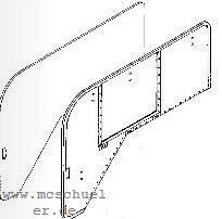 1:87 Windleitbleche, Bauart Wagner für DRG BR 44, 1 Paar geätzt und gebogen. - Weinert 89001    günstig bestellen bei Weinert-Bauteile