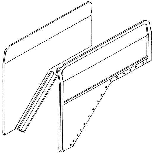 1:87 Windleitbleche Bauart Wagner, kleine Ausführung, für BR 01 1 Paar - Weinert 8909  | günstig bestellen bei Weinert-Bauteile