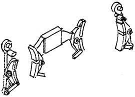 1:87 Bremsen für Tender 2�2�T34 1 Satz- Weinert 8916  | günstig bestellen bei Weinert-Bauteile
