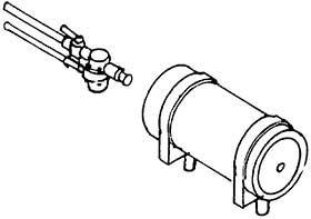 1:87 Luftbehälter für BR 55 mit Armatur, 1 Stück- Weinert 8922  | günstig bestellen bei Weinert-Bauteile