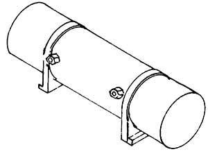 1:87 Luftbehälter für BR 55, 1 St. - Weinert 8924  | günstig bestellen bei Weinert-Bauteile