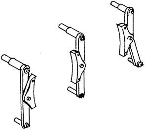1:87 Bremsen für BR 91, 3 Paar - Weinert 89302  | günstig bestellen bei Weinert-Bauteile