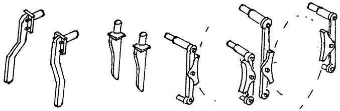 1:87 Bremsen und Schienenräumer74 für BR 74, 1 Satz- Weinert 89304  | günstig bestellen bei Weinert-Bauteile
