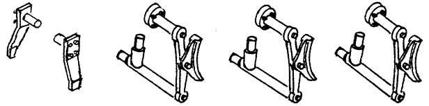 1:87 Bremsen und Schieneräumer für ELNA, 1 Satz- Weinert 89306  | günstig bestellen bei Weinert-Bauteile