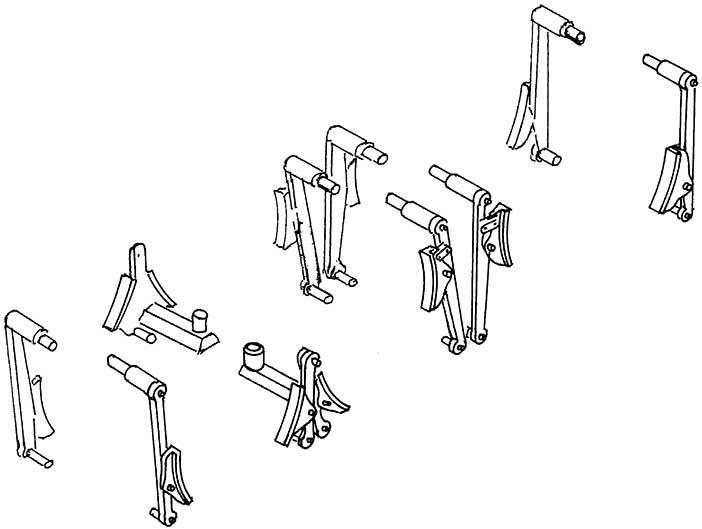 1:87 Bremsen für P8, BR 38, 1 Satz - Weinert 89309  | günstig bestellen bei Weinert-Bauteile