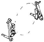 1:87 Bremsbacken mit einem Brems- eisen für Rad d=9,5-11,5mm für Vorlaufräder BR 71, 4 Paar - Weinert 8934  | günstig bestellen bei Weinert-Bauteile
