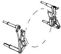 1:87 Bremsbacken mit einem Brems- eisen für Rad d=16,5-17,5mm z.B. für BR 71, 4 Paar - Weinert 8935  | günstig bestellen bei Weinert-Bauteile