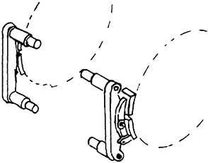 1:87 Bremsen für V 20, 2 Paar - Weinert 8937  | günstig bestellen bei Weinert-Bauteile