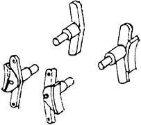1:87 H0e-H0m Bremsen für SChmalspurloks, 2 Paar- Weinert 8944  | günstig bestellen bei Weinert-Bauteile