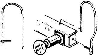 1:87 Laternenbügel für Pufferbohle links und rechts, 2 Stück - Weinert 90012  - z.B. für BR 57 | günstig bestellen bei Weinert-Bauteile