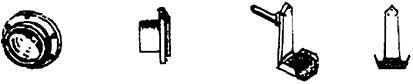 Mehr Details und Kaufen von 1:87 DRG Lampen für E18 und E19.0, mit 2 Pufferbohlentritte - Weinert 90013    günstig bestellen bei Weinert-Bauteile
