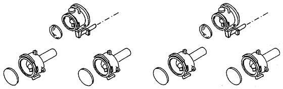 1:87 Laternen für Triebwagen (4x) und Spitzenlichthalter (2x)- Weinert 90057    günstig bestellen bei Weinert-Bauteile
