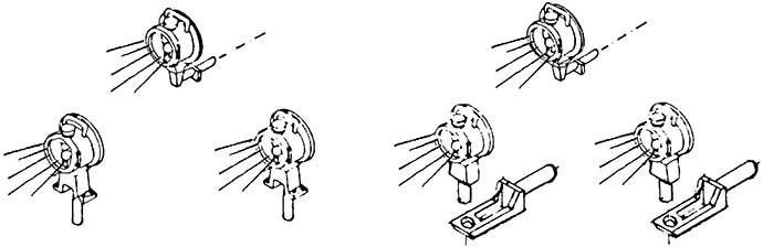 1:87 Loklaterne DB, beleuchtet mit Microlämpchen, wie #9003 1 Satz - Weinert 9029  | günstig bestellen bei Weinert-Bauteile