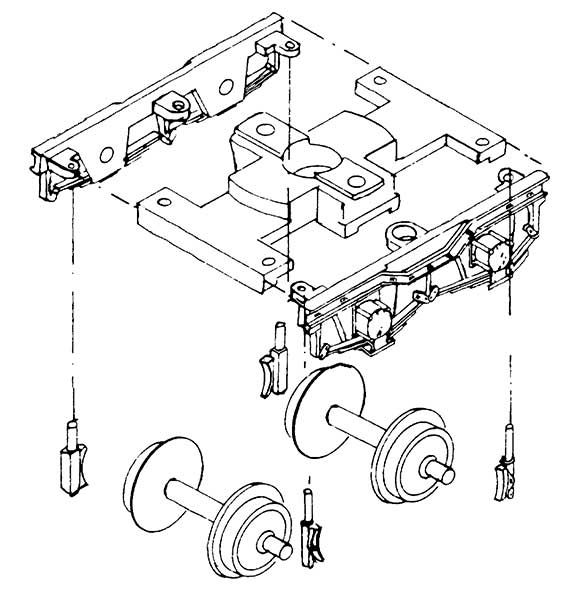 1:87 H0e Drehgestellblenden für Weyer-Wagen, 11,5mm Achsabstand. 2 Stück - Weinert 9051  | günstig bestellen bei Weinert-Bauteile