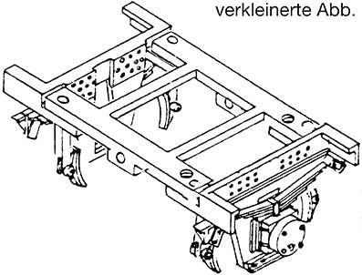 1:87 Achslager für Güterwagen SMR mit Lagerbrücke und Bremsen, 24,6mm Spitzenweite, 1 Stück - Weinert 9057    günstig bestellen bei Weinert-Bauteile