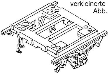 1:87 H0e-H0m Achslager für Schmalspurwagen mit Lagerwippe und Bremsen, 1 Stück - Weinert 9058  | günstig bestellen bei Weinert-Bauteile