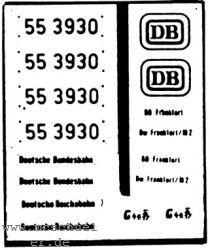 Mehr Details und Kaufen von 1:87 Beschriftung BR 55 3930 1 Satz Neusilber geätzt- Weinert 9125  | günstig bestellen bei Weinert-Bauteile