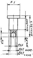 1:87 Nieten für Steuerung von Schmalspurloks, 10 Stück- Weinert 9182  | günstig bestellen bei Weinert-Bauteile