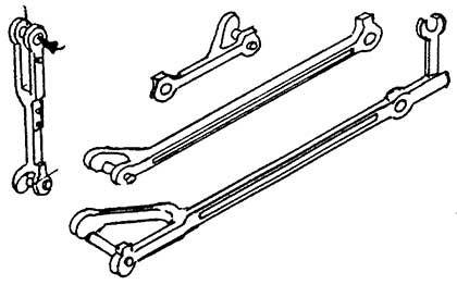 1:87 Voreilhebel,Schieberschub- stange,Lenkerstange für BR 41 1 Satz je 2 x - Weinert 92016  | günstig bestellen bei Weinert-Bauteile