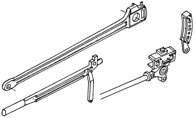 1:87 Kuppelstange,Schwinge,Kreuz- kopf,Gleitbahn für BR 41 1 Satz je 2 x - Weinert 92017  | günstig bestellen bei Weinert-Bauteile