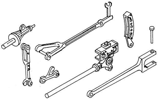 1:87 Teile für Innensteuerung BR 85 - Weinert 92020    günstig bestellen bei Weinert-Bauteile