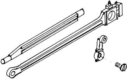 1:87 Kuppelstangen, Gleitbahn und Gegenkurbel mit Schraube 1 Satz je 2x - Weinert 9206    günstig bestellen bei Weinert-Bauteile