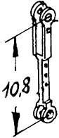 1:87 Voreilhebel, Neusilberguss 2 Stück- Weinert 9211  | günstig bestellen bei Weinert-Bauteile
