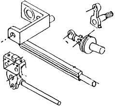 1:87 H0e-H0m Steuerungsteile für Schmalspur-Dampflok Plettenberg, 1 kompl. Satz - Weinert 9232  | günstig bestellen bei Weinert-Bauteile