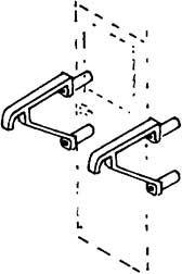 1:87 Geländer V 20 für Wagenüber- gang, 2 Stück- Weinert 9246  | günstig bestellen bei Weinert-Bauteile