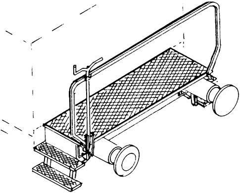 1:87 Übergangssteg mit Tritten, Geländer, Bremskurbel, 2 Puffer, 1 Satz - Weinert 9256  | günstig bestellen bei Weinert-Bauteile