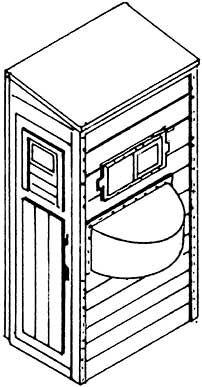 1:87 Bremserhaus für Übergangssteg aus Zurüstsatz 9262,- Weinert 9263  | günstig bestellen bei Weinert-Bauteile