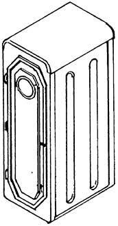 1:87 Bremserhaus für Übergangssteg aus Zurüstsatz #9256, 1 Stück- Weinert 9264  | günstig bestellen bei Weinert-Bauteile