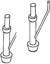 1:87 WC-Fallrohr, 4 Stück - Weinert 9266  | günstig bestellen bei Weinert-Bauteile