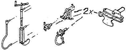 1:87 H0e-H0m Bremskurbel, Bremsschläuche, E-Kupplung, Heiz-+Mittelpufferkupplung - Weinert 92671  | günstig bestellen bei Weinert-Bauteile