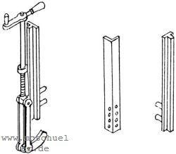 1:87 H0e-H0m Rungen für Schmalspur-Flachwagen, 1 Satz- Weinert 9274  | günstig bestellen bei Weinert-Bauteile