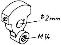 Mehr Details und Kaufen von 1:87 Blindwelle für V 65, 2 Stück - Weinert 9400  | günstig bestellen bei Weinert-Bauteile
