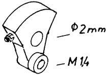 Mehr Details und Kaufen von 1:87 Blindwelle V 20, V36, 2 Stück - Weinert 9401  | günstig bestellen bei Weinert-Bauteile